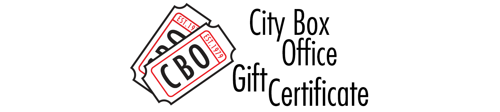 City Box Office Gift Certificate